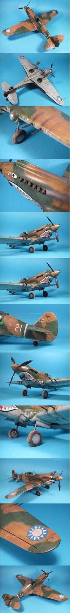 P-40 Warhawk   unknown scale