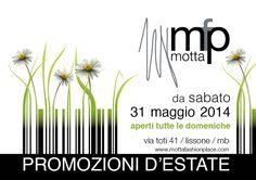 Promozioni d'Estate! Scopri di più su www.mottafashionplace.com/blog #sconti #saldi #monza #brianza