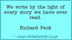 Quotable - Richard Peck - Writers Write Creative Blog