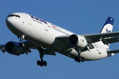 Iran Air Airbus A300B4-605R (registered EP-IBB) on final approach to London-Heathrow, November, 2012, as IR711 from Tehran-Imam Khomeini International. (Photo via Flickr: Andrew Simpson)
