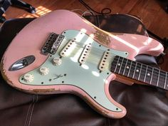 Have you ever modified your #Stratocaster? #Guitar #Guitars #Music #Musician #Custom #Pink #Live #Love #Listen #Play #np #ElectricGuitar #Fender #Strat