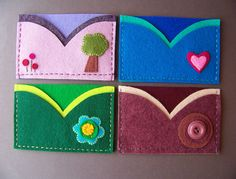 Felt card holders | Flickr - Photo Sharing!