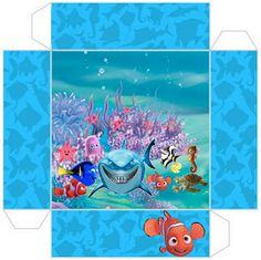 Nemo - Complete Kit with frames for invitations, labels for snacks, souvenirs and pictures! | Making Our Party