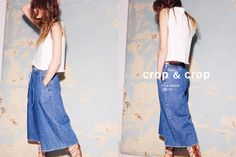 Zara shows how to wear denim this Spring - The fashion brand spotlights the cropped denim look