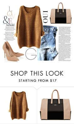 """""""Untitled #88"""" by liebelievedie ❤ liked on Polyvore featuring ASOS, Lipsy and Oui"""