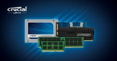 Find compatible memory and SSD upgrades with our Crucial Advisor tool and our Crucial System Scanner.