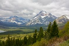 Driving through East Glacier, Montana in June 2012. . . Heaven on Earth. :)
