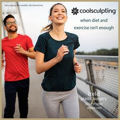 When diet and exercise aren't enough to get rid of those pesky pockets of fat, call us at 312.757.4505 and schedule your CoolSculpting cycles. No surgery. No needles. No downtime. #boardcertifiedplasticsurgeon #chicagoplasticsurgery #boardcertified #plasticsurgeon Plastic Surgery Procedures, Cool Sculpting, Fat, Exercise, Mens Tops, Fashion, Ejercicio, Moda, La Mode