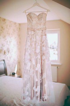 Šviesiai rožinė suknelė/ Blush pink wedding dress