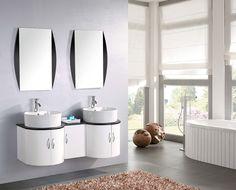 Lavello Bagno Doppio : Fantastiche immagini su mobili bagno doppio lavabo nel