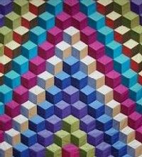 tumbling block quilt want  to try this one