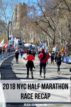 2018 NYC Half Marathon recap. New and challenging course...but still so much fun and a truly amazing race!