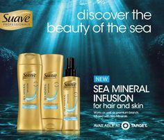 Sea Mineral Infusion line from Suave