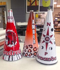 Specializing In Awesome signs strasburg ohio custom sculpted Cheerleading Megaphones, Cheer Megaphone, Cheerleading Bows, Cheer Team Gifts, Trade Show Design, Senior Gifts, School Spirit, Craft Gifts