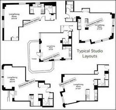 Luxury Apartment Floor Plans - Bing Images