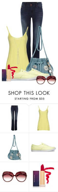 """""""Summer"""" by agnes-wistedt ❤ liked on Polyvore featuring Diesel, Manila Grace, The Sak, Vans, Oliver Peoples, Kevyn Aucoin and Swarovski"""