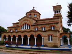 Greek Orthodox church, Lubumbashi, Congo, DRC Temple, Congo Kinshasa, Russian Orthodox, Place Of Worship, Republic Of The Congo, House Styles, African Animals, Prime Minister, Ghana
