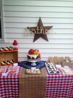 8168ef61e69 Cowboy Birthday Party Ideas. Rodeo ...