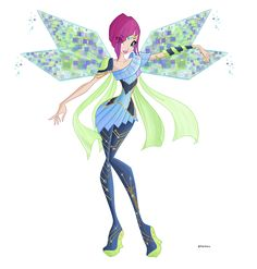 Tecna Bloomix Winx Club Season 6