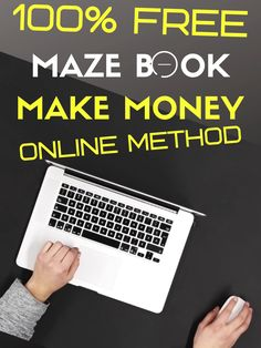 Make Money From Home, Make And Sell, How To Make Money, Kindle Cover, Ebook Cover, Maze Book, One Time Password, Youtube Hacks, Lesson Planner