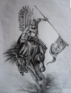 17th century Polish Winged Hussar