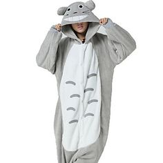 Japanese kigurumi pajamas - Japanese catroon Totoro Leotard. Would you like it for your Halloween? Over 60% OFF till September 26 >>