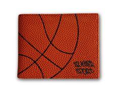 Zumer Sport Basketball Men's Wallet Made From Real Basketball Material #zumersport #basketballwallet #basketball #wallet #menswallet