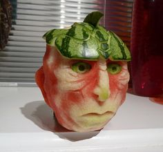 20 Epic Watermelons. Clive Cooper, Sparksfly Design. Edible Art.