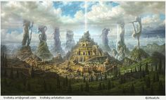 """Babylon"" by Ivan troitckii | Illustration | 2D | CGSociety"