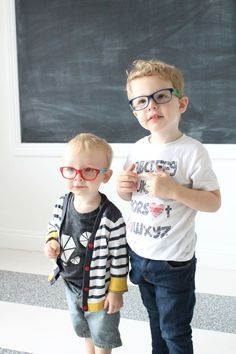 Learning together. #eyeglasses
