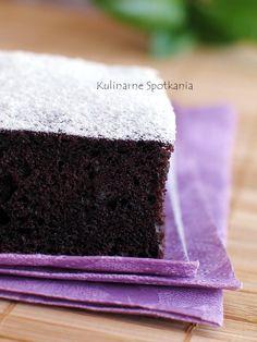Egg-less chocolate cake: Kulinarne Spotkania