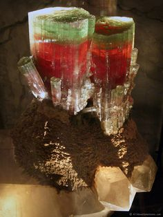 Tourmaline from Pala, California /  Mineral Friends <3
