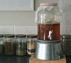 how to: brew kombucha