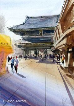街の風景 #1009 - 楽しいスケッチ ---- Sketch Meets Fun -----