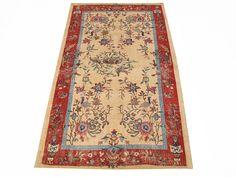 ww.aksaraycarpet.com #carpet #rug #rugs #vintage #overdyed #patchwork #homedecoration #decor #interiordesign #etsy #nest #bird Turkish Vintage Rug With Chinese Design   75 x 46