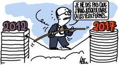 exercice périlleux pour François Hollande http://undessinparjour.wordpress.com/2014/11/07/perilleux/