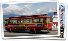 The Vancouver Trolley Company - A Hop on-Hop-off Tour passing many of Vancouver's Best sites.
