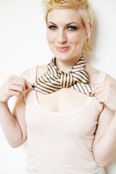 @: the new way to tie a tie.....