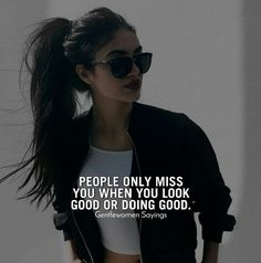 Motivation Quote for Woman Positive Attitude Quotes, Attitude Quotes For Girls, Girl Attitude, Mood Quotes, Life Quotes, Qoutes, Classy Quotes, Girly Quotes, Badass Girl