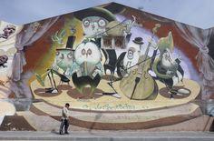 Los graffitis de Málaga, en imágenes
