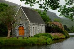 Day 66 - Gougane Barra Church, just outside Macroom in County Cork.  This is positively idyllic.