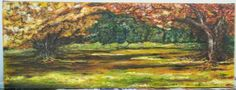 "Falls beauty by Athene My.  Schuck  30""x11"""