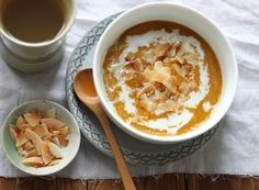 Pumpkin Pie Amaranth Porridge | My New Roots