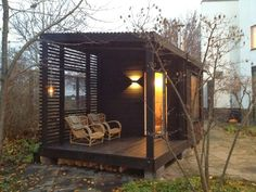 Good sauna designs and plans make your sauna project perfect. When you decide to design your own sauna, it is important to consider several factors. Heaters are the heart and soul of any sauna. Sauna Design, Shed Design, House Design, Design Design, Interior Design, Sauna House, Sauna Room, Scandinavian Saunas, Outdoor Sauna
