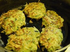 Zucchini Potato Patties