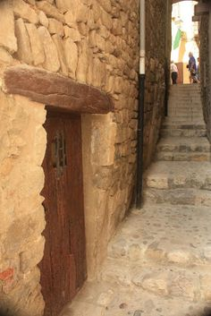 Street of the jewish quarter in Besalú