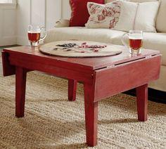 Eastlake Drop-Leaf Coffee Table | Pottery Barn - love this!!