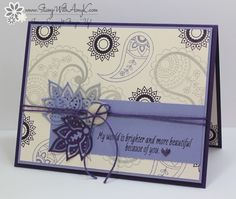 Paisleys & Posies 2 - Stamp With Amy K