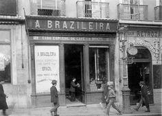 A Brasileira em 1911, fotografada por Joshua Benoliel
