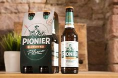 World's first beer from gluten-free barley goes on sale